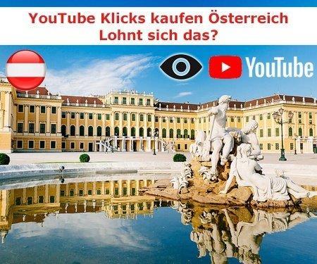 Warum sollten Sie österreichische YouTube Klicks kaufen?