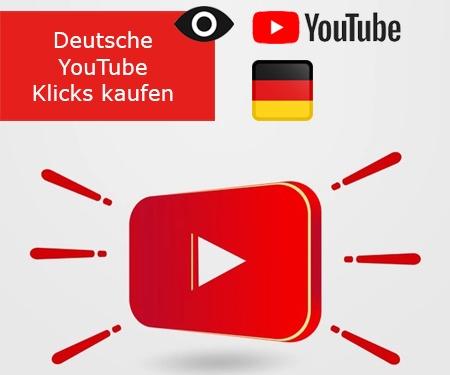 Deutsche YouTube Klicks kaufen