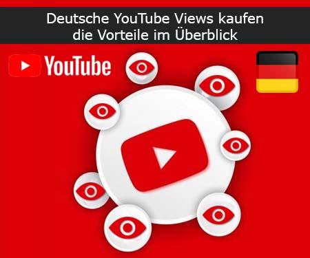 Warum sollten Sie bei uns Deutsche YouTube Aufrufe kaufen?