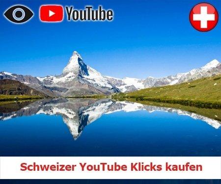Schweizer YouTube Klicks kaufen