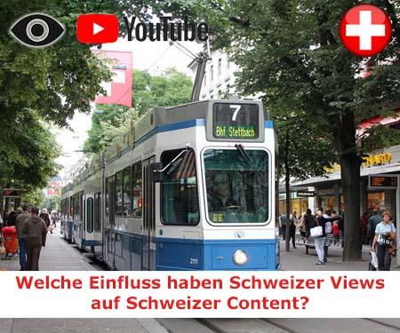 Schweizer YouTube Views mit hoher Verweildauer + Garantie