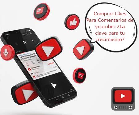 Comprar Likes Para Comentarios de youtube: ¿La clave para tu crecimiento?