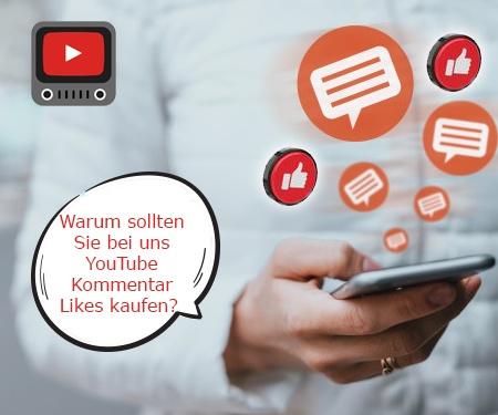Warum sollten Sie bei uns YouTube Kommentar Likes kaufen?