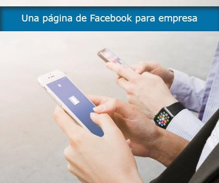 Una página de Facebook para empresa