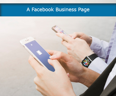 A Facebook business page