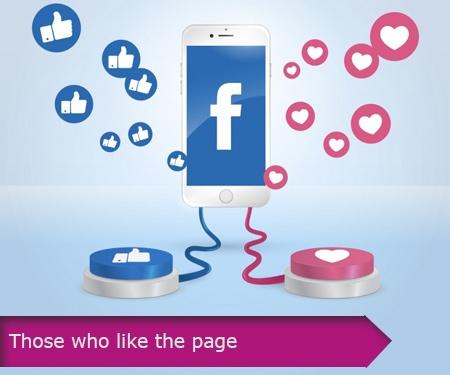 Those who like the page
