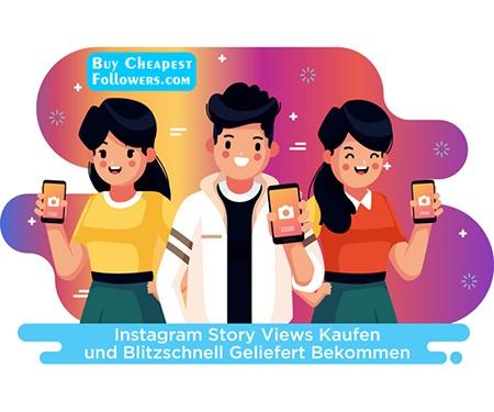 Instagram Story Views kaufen und blitzschnell geliefert bekommen