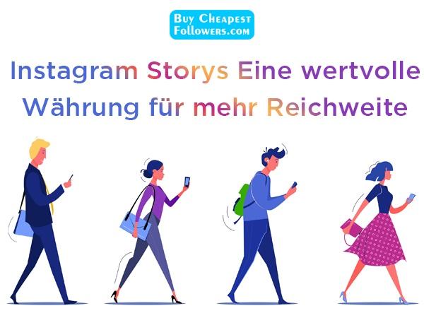 Warum sollten Sie Instagram Story Views kaufen?